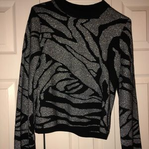 H&M sparkly sweater